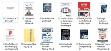 7 make money pdf books