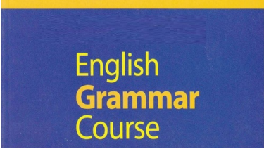 english grammer course